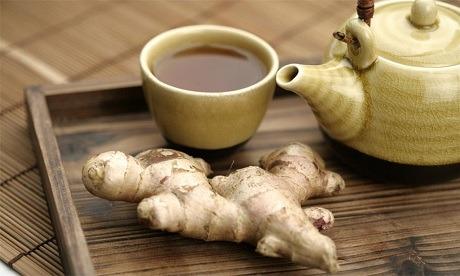 Имбирный чай от рвоты