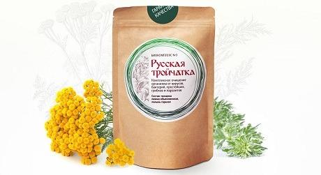Русская тройчатка для взрослых от паразитов