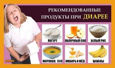 Что можно кушать при поносе