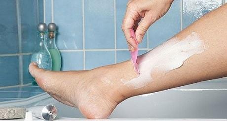 Депиляция волос на ногах в домашних условиях