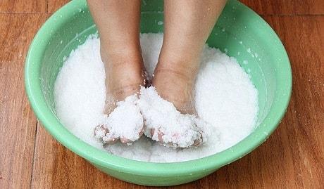 Лучшее средство от грибка морская соль