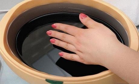 Ванночка для рук с чередой