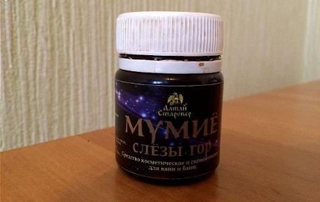 Методы лечения мумие