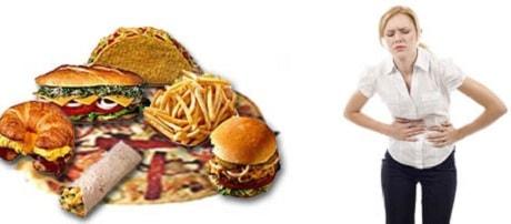 Неправильное питание для желчного пузыря