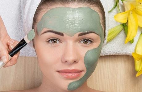 Как убрать шрам на лице глиной