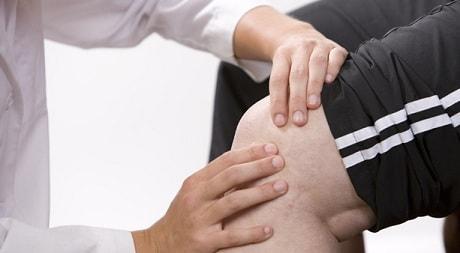 Народное лечение боли в колене