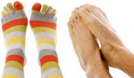 Начали мерзнуть пальцы ног