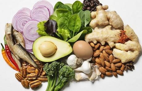 Продукты питания для сосудов