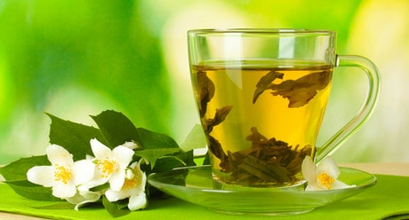 Зеленый чай от похмелья