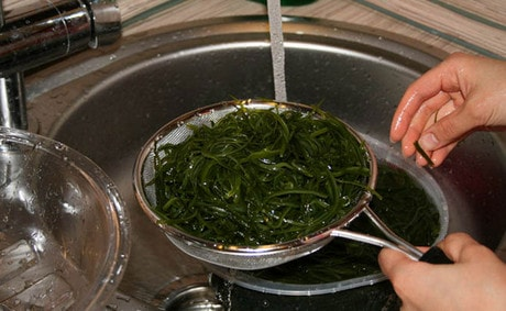 Приготовление морской капусты