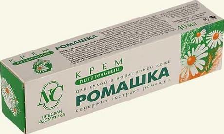 Полезные свойства крема с ромашкой