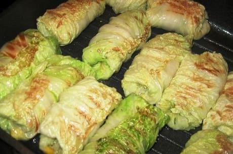 Приготовление китайской капусты