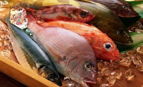 Морепродукты с йодом
