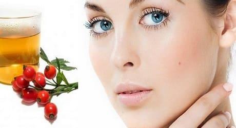 Косметическое масло шиповника для лица