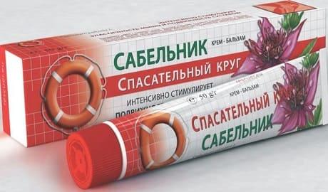 Мазь Сабельник для суставов