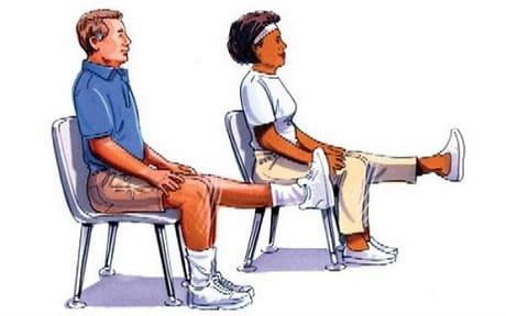 Упражнения при боли в коленях
