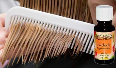Применение масла пачули для волос