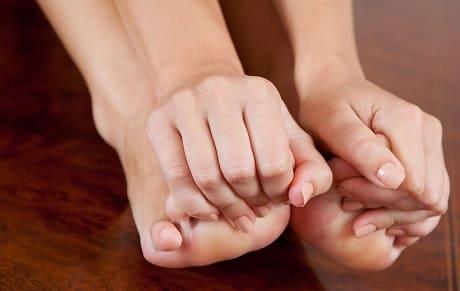 Пальцы ног немеют что делать