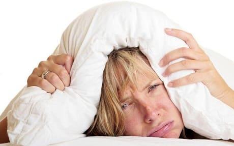 Плохой сон при нервном диатезе