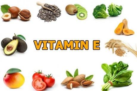 Где содержится витамин Е