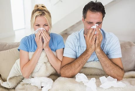 Лечение заложенности носа в домашних условиях