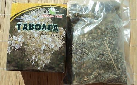 Трава таволга в аптеке