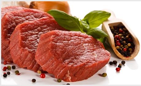 Количество железа в говядине