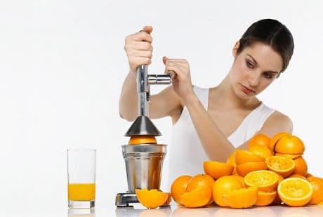 Как сделать домашний апельсиновый сок