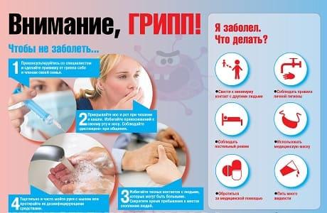 Эпидемия гриппа 2019