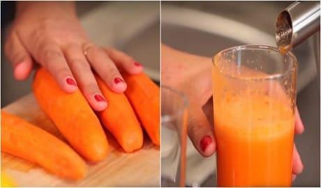 Свежевыжатый морковный сок польза и вред